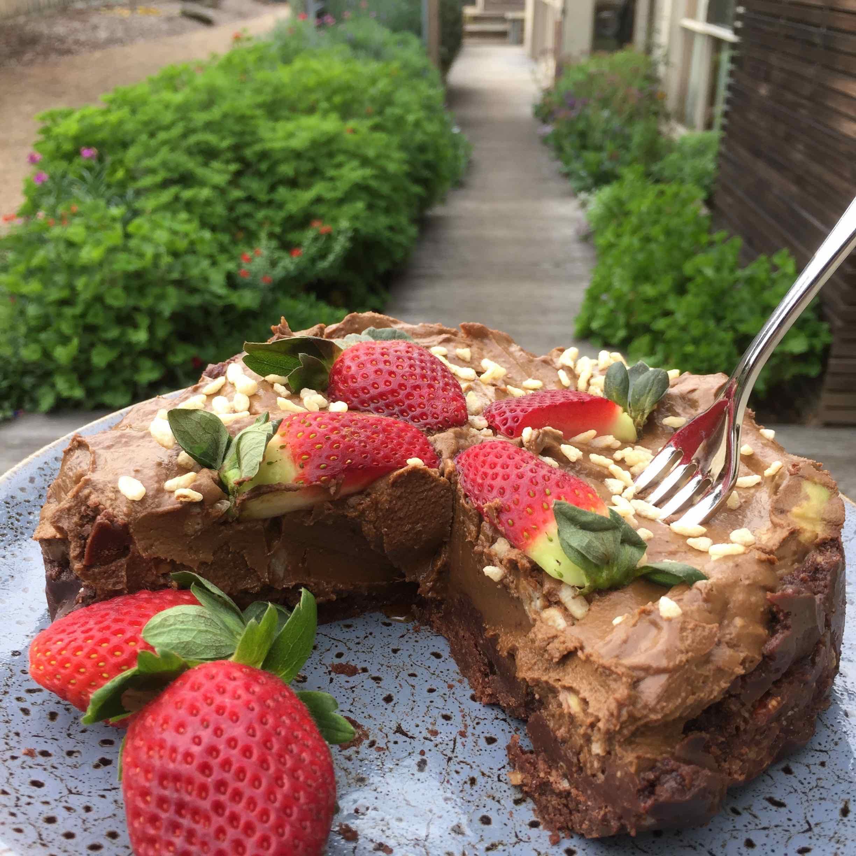 Healthy taart inspiratie